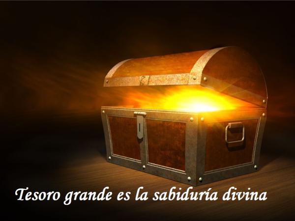 buscar sabiduría como el más grande tesoro