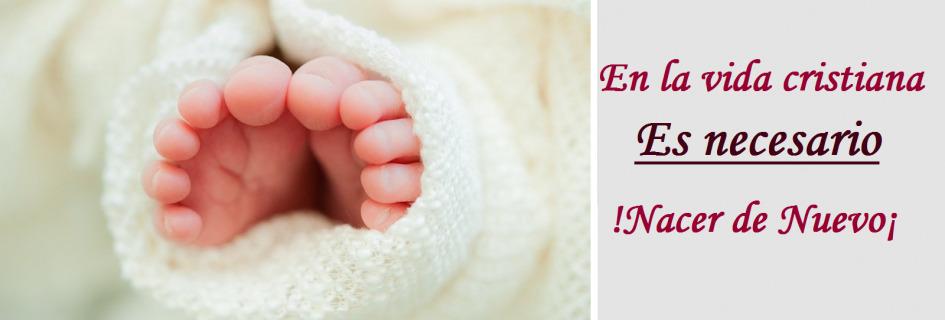La vida cristiana empieza con el nuevo nacimiento
