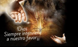 Dios nos sostiene con su diestra